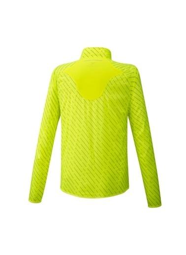 Mizuno Reflect Wind Jacket Erkek Yağmurluk Sarı Sarı